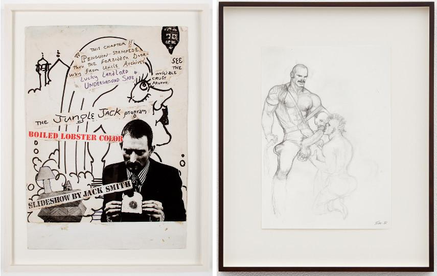Jack Smith - Untitled, c. 1977 / Tom of Finland - Untitled, 1988