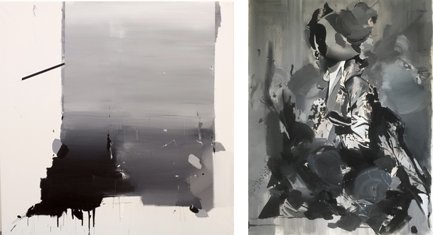 Left: Jakub Hubalek - Drama Queen / Right: Jakub Hubalek - Aristocracy. Images courtesy of ponyhof artclub