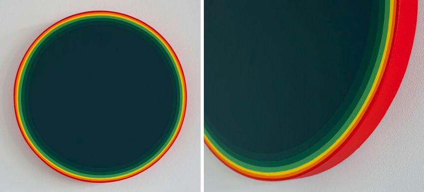 Smaragd Green, 2017, Smaragd Green, 2017 (detail)