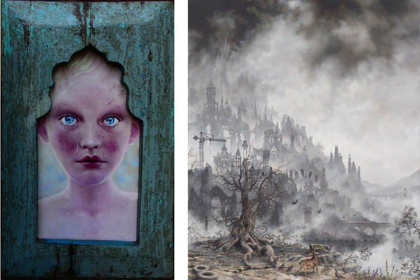 Left : Jana Brike - Lover's Last Glance / Right : Brian Mashburn - A Wealth Of Notions
