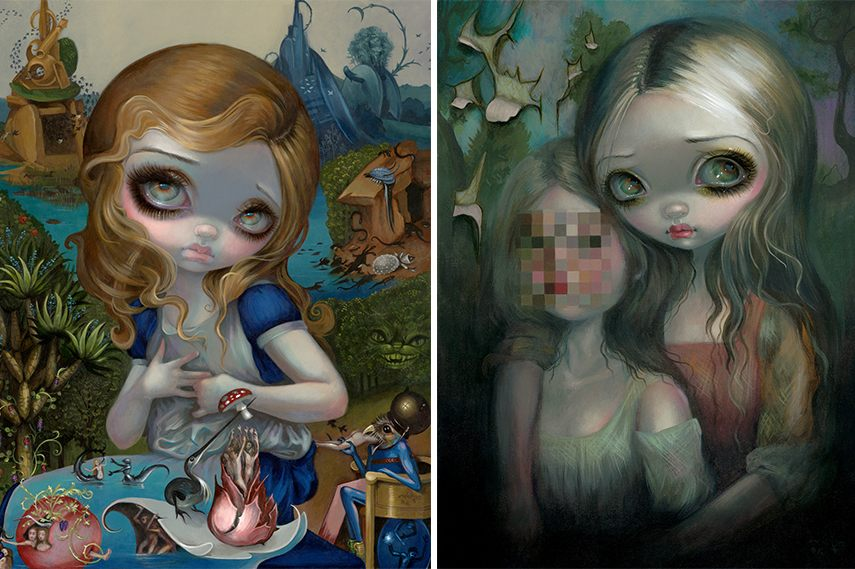 Shop for Jasmine Becket Griffith Strangeling fairy figurines, add them to your cart and get free shipping to your home. You can purchase her fairy artworks at the Hamilton collection shop, obtain her exclusive prints, and add them to your collection