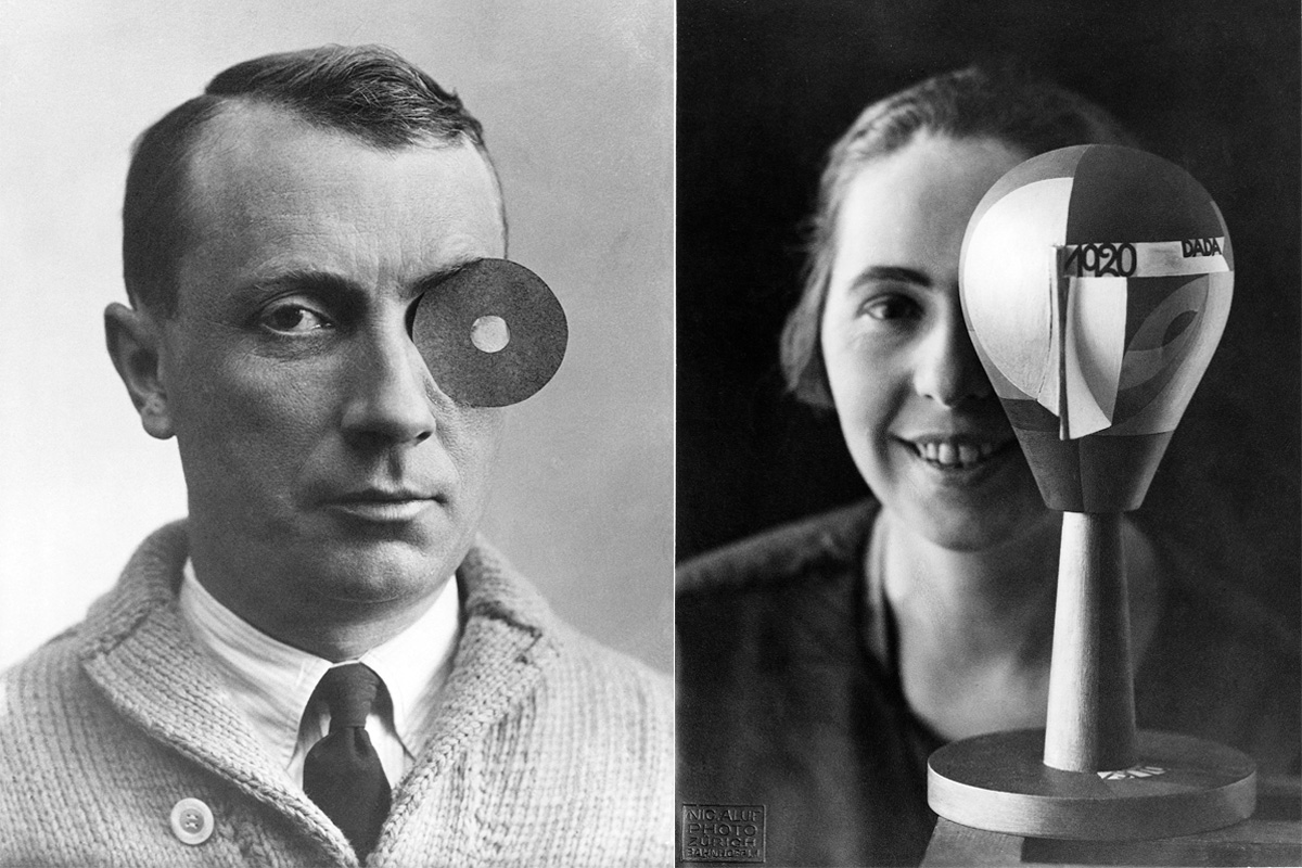 Left Jean Arp Right Nic Aluf - Sophie Taeuber-Arp