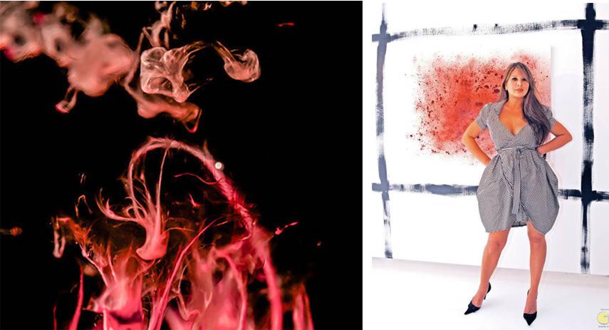 menstrual blood art