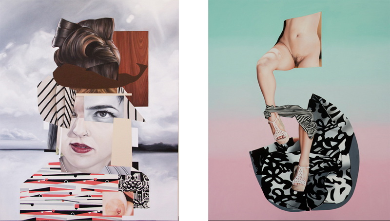 contact home arts home cameos resume paintings Left Jennifer Nehrbass - Lady Dada, 2014 Right Jennifer Nehrbass - Aphrodite