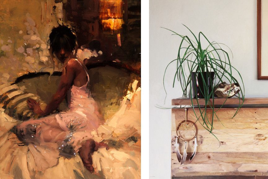 Left Jeremy Mann - Interlude Right Greg Gandy - Dream Catcher