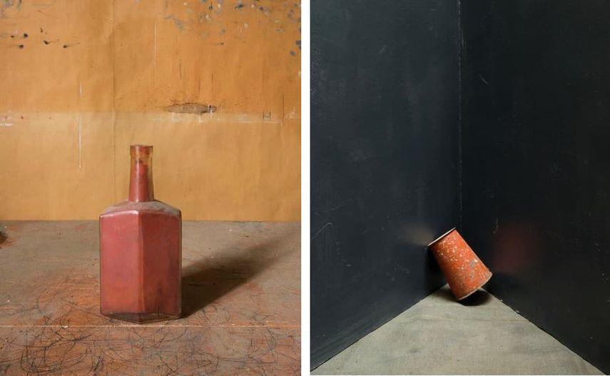 Morandi's Objects, 2015, Grey Corner, 2014