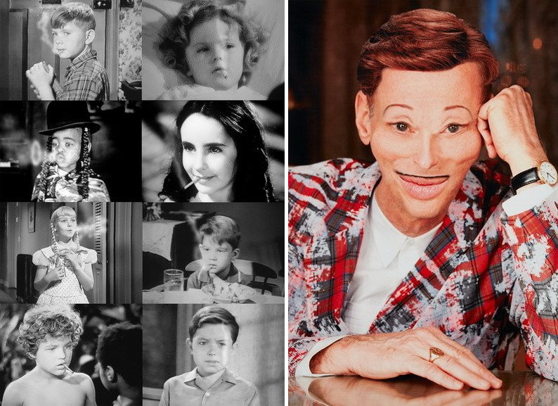 Left John Waters - Children Who Smoke Right John Waters - Beverly Hills John