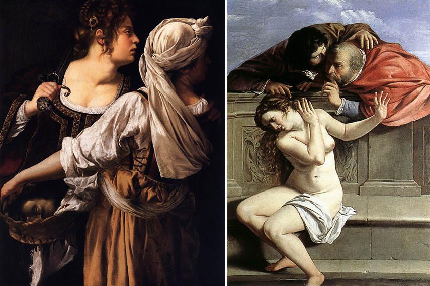 Artemisia Gentileschi artist