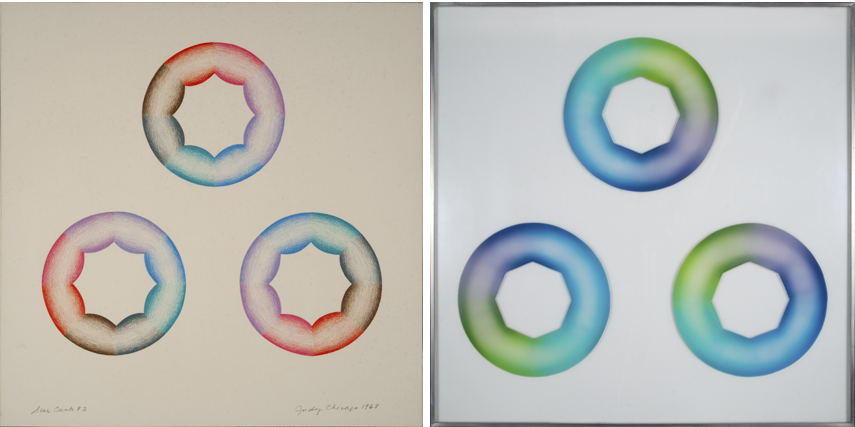 judy chicago project contact flower state new education educator birth history news