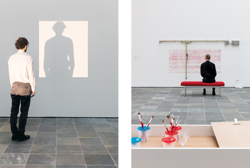Left Juergen Staack - Shadows, 2016 Right Angela Bulloch