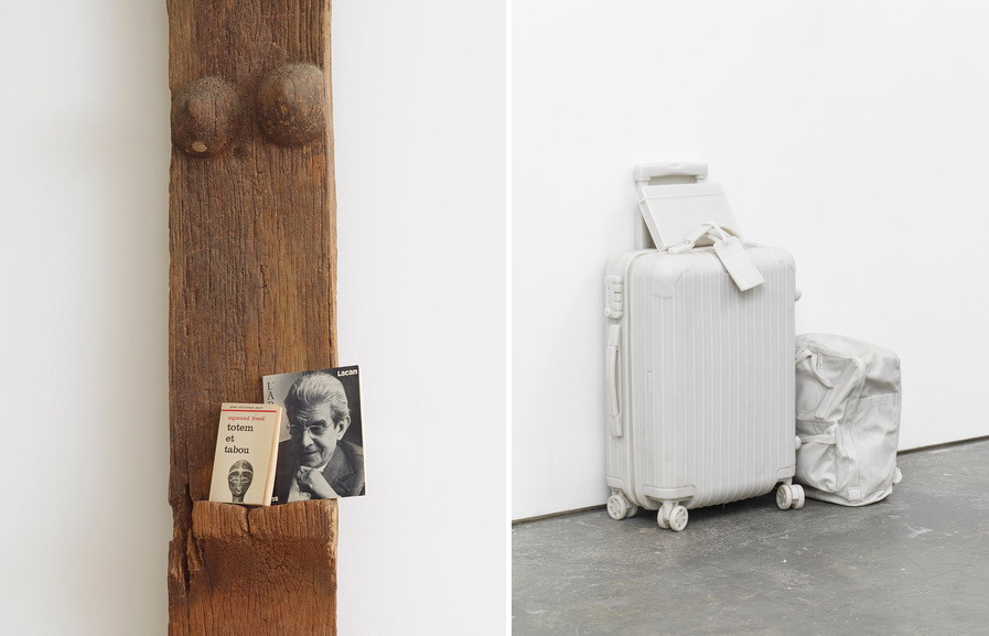 Left Kader Attia - Untitled Right Right Ryan Gander - And my first words will be your name