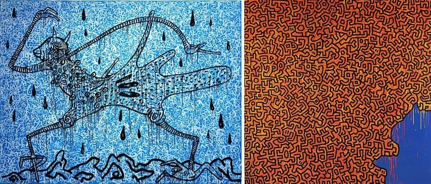 Walking in the Rain, 1989, Brazil, 1989