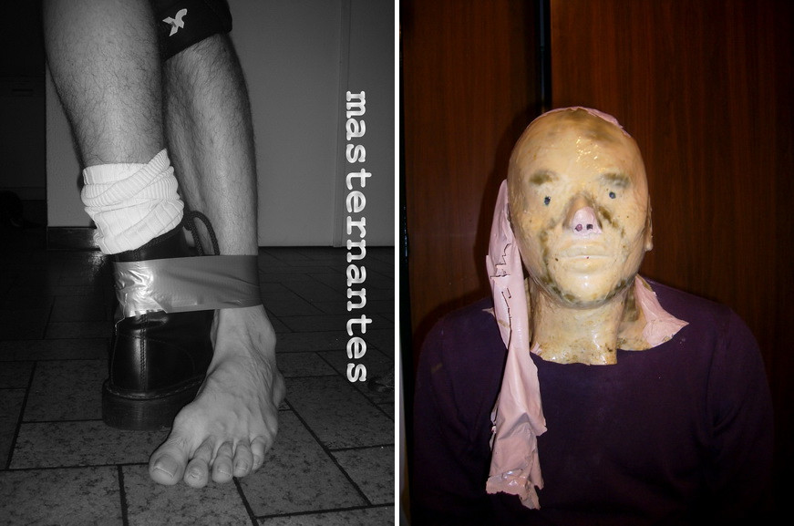 Left Kevin Bliderman - Kevin Blinderman masternantes, Pute pour esclave, 2009 Right Hendrik Hegray - Sans titre, 2012