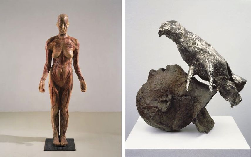 Virgin Mary, 1992, Head with Bird, 1994