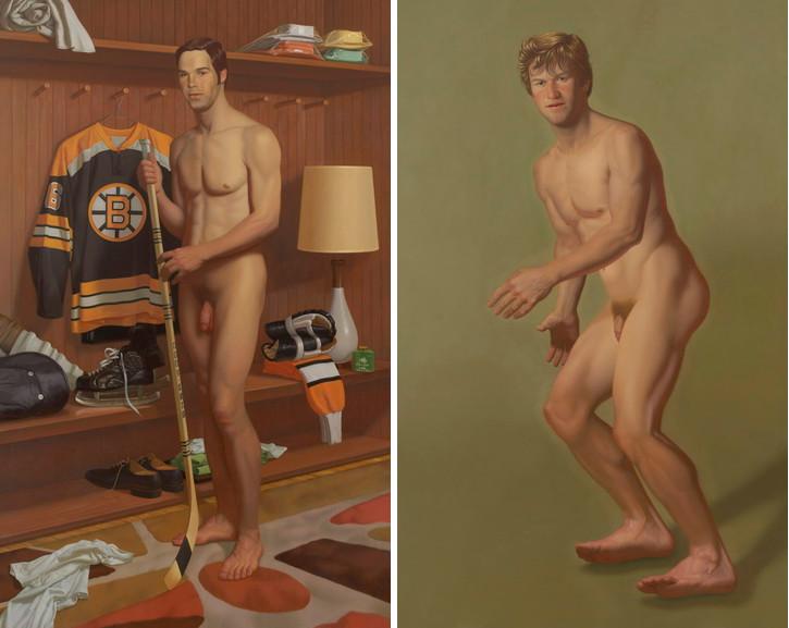 Left Kurt Kauper -Derek, 2007 Right Kurt Kauper - Bobby #2, 2007