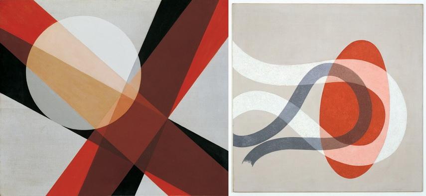 Left Laszlo Moholy-Nagy - A19 Right Laszlo Moholy-Nagy - CH Space 6