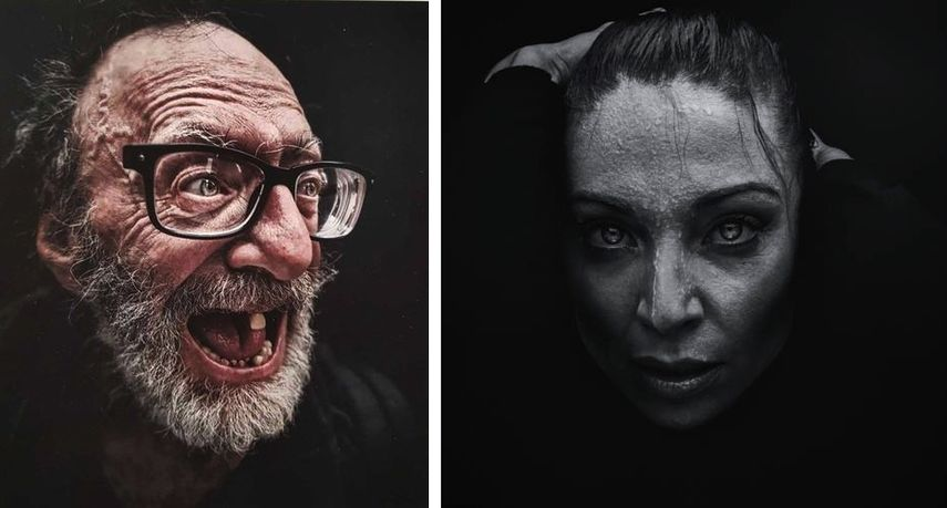 Lee Jeffries - Something missing...., from the Portraits series