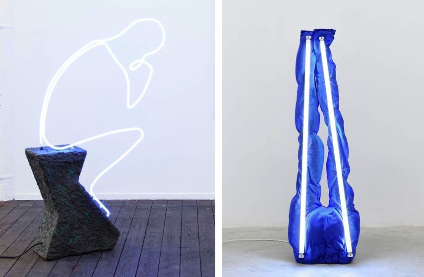 Der Denker, 2015, S.A.D. Lamp (Sweatpants), 2016