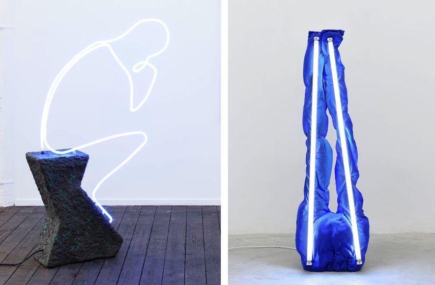 Der Denker, 2015, S.A.D. Lamp (Sweatpants), 2016