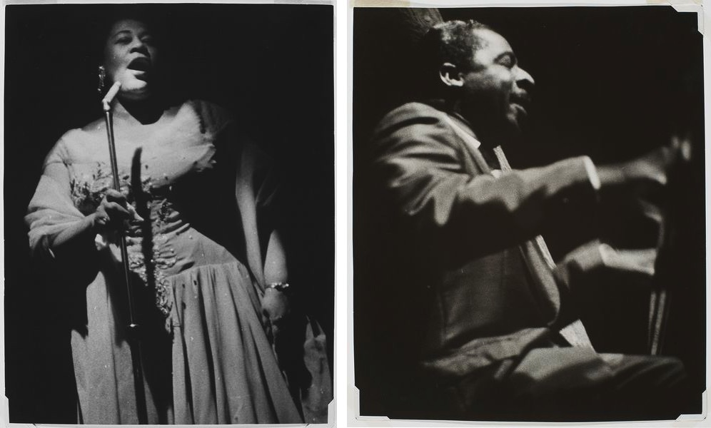 Ella Fitzgerald, Erroll Garner, New York Jazz Festival, Downing Stadium, Randall's Island