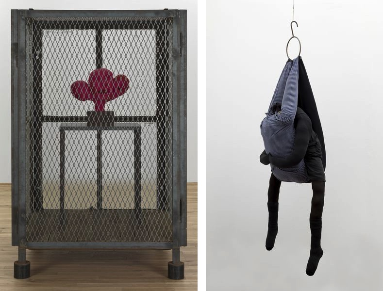 Louise Bourgeois - Cell XIV (portrait), 2000, Louise Bourgeois - Couple I, 1996
