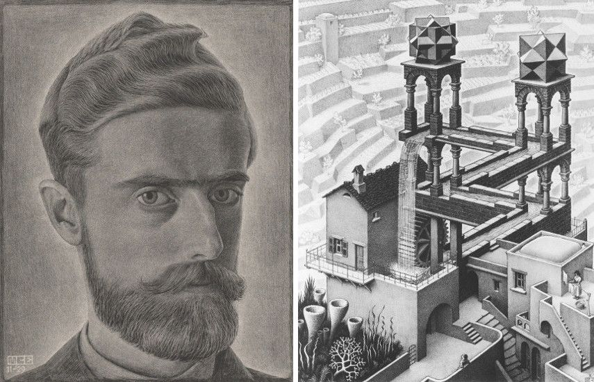 M C Escher S Grand Journey From His Birthplace Leeuwarden To The World And Back Again Widewalls