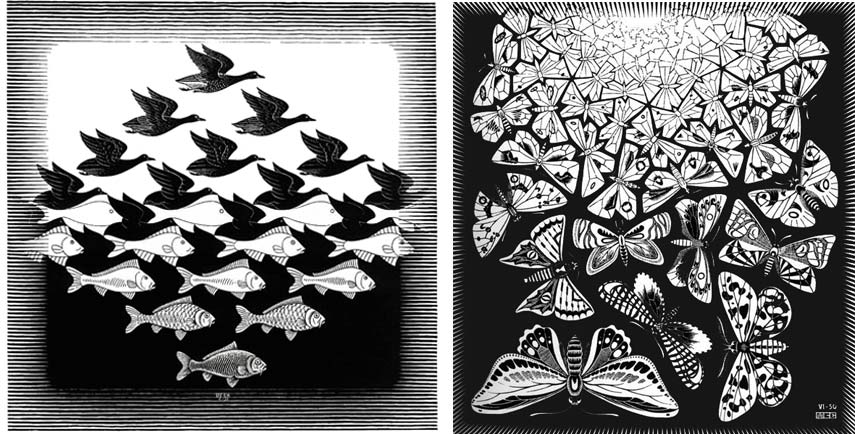 The use of tessellations in art of M.C.Esher