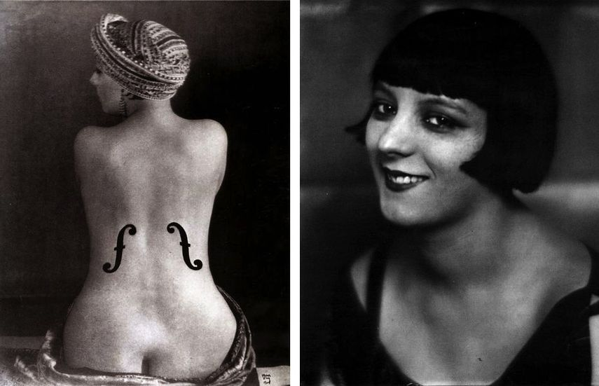 Man Ray - Ingre's Violon, 1924, Man Ray - Kiki de Montparnasse