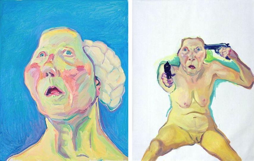 Dame mit Hirn, ca. 1990-1999, Du oder Ich, 2005