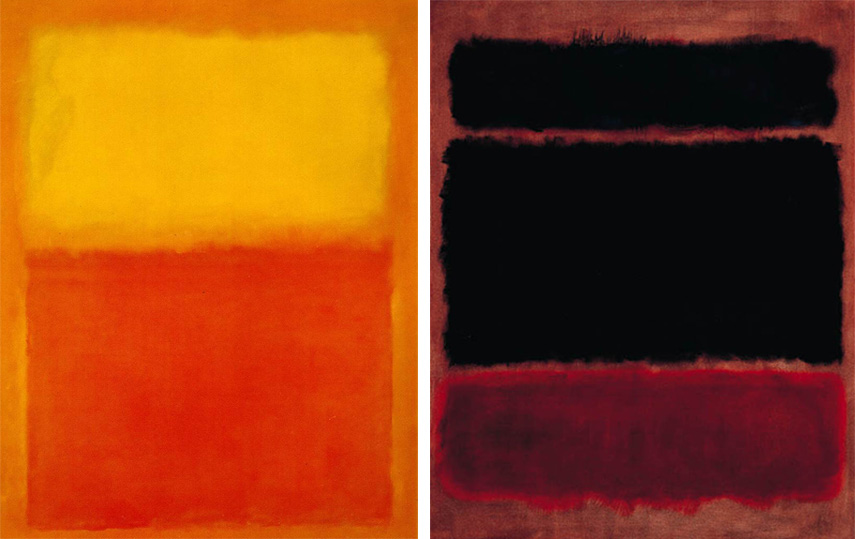 angeles museum adores american abstraction such as works by rothko and newman.