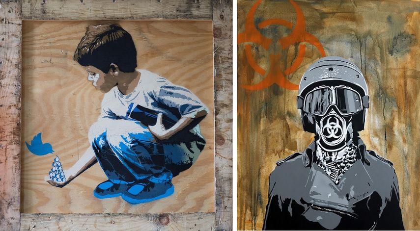 Boy & Dove, Biohazard