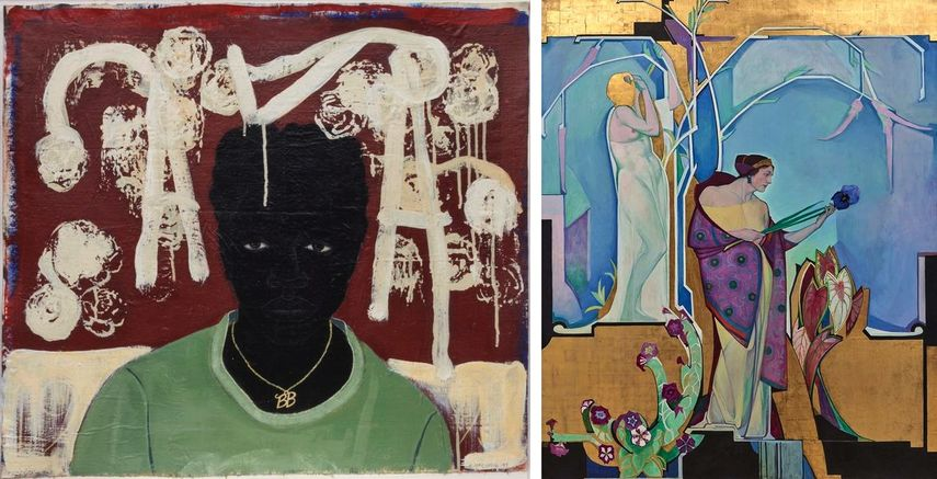 Kerry James Marshall - Lost Boys, arts acquired by the foundation in 2017