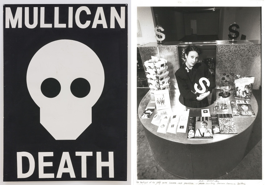 Matt Mullican - Untitled (Death), 1980 / GENERAL IDEA - The Boutique of the 1984 Miss General Idea Pavillion, 1980