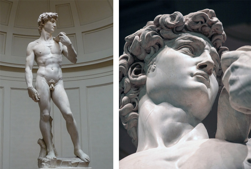 michelangelo and donatello s david