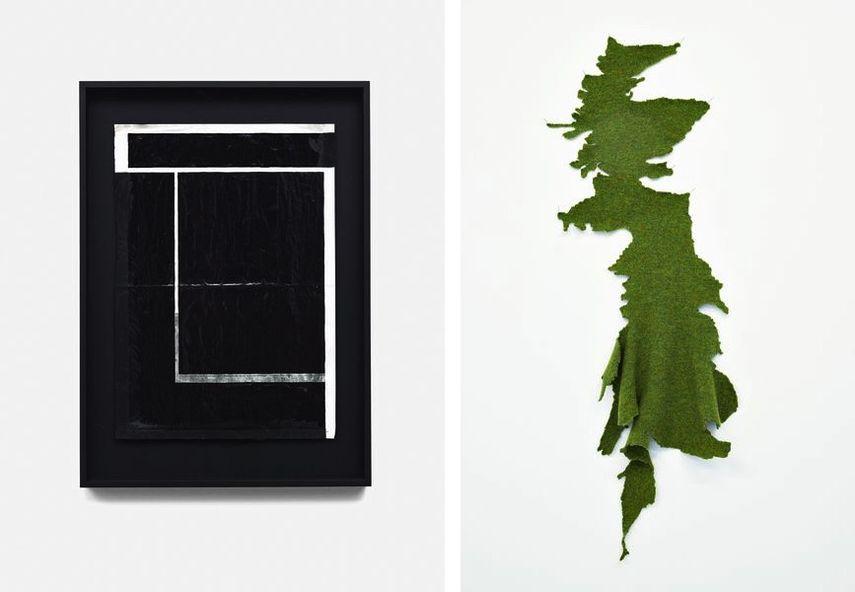 Mike Meiré - La Dernière Rose, 2016, Susan Stockwell - Jerusalem-Br-Exit, 2018