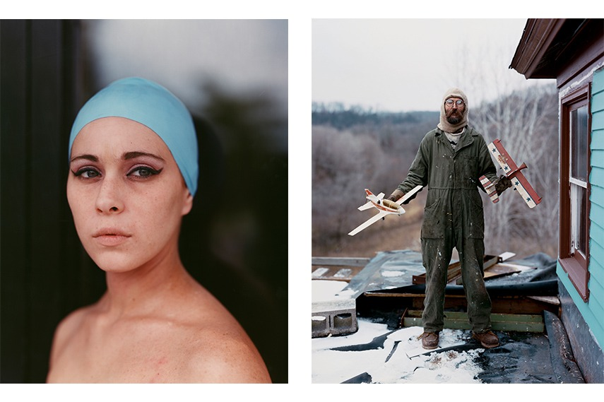 magnum minnesota like people pictures photos people little days world Left: Misty, 2005, from Niagara © Alec Soth / Right: Charles, Vasa, Minnesota, 2002, from Sleeping by the Mississippi © Alec Soth