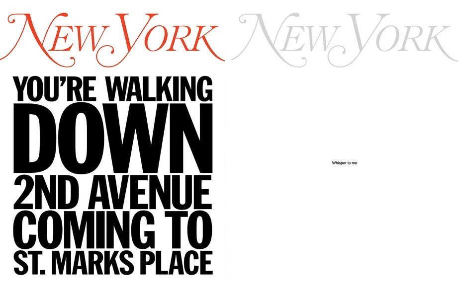 My New York Artist Covers: John Giorno, My New York Artist Covers: Yoko Ono