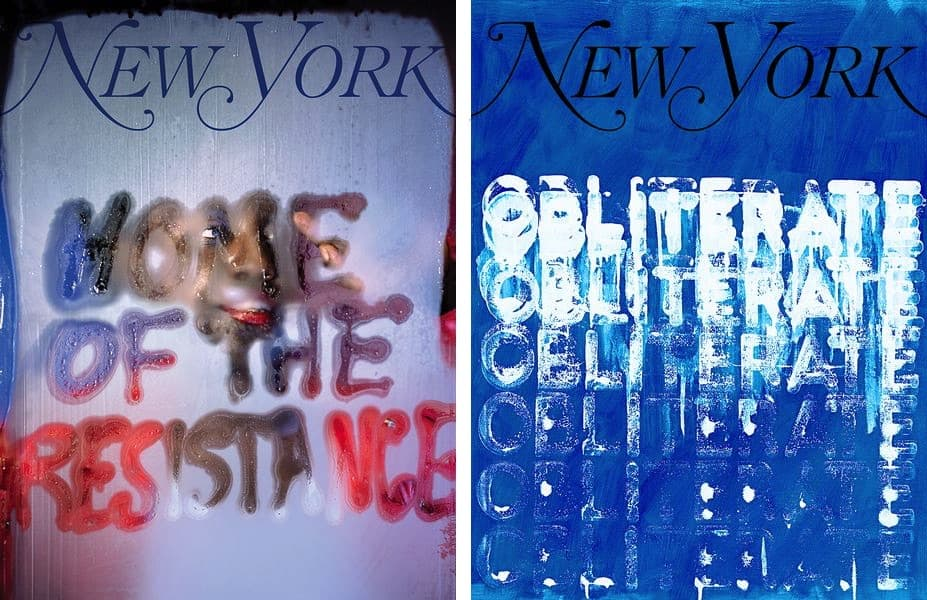 My New York Artist Covers: Marilyn Minter, My New York Artist Covers: Mel Bochner
