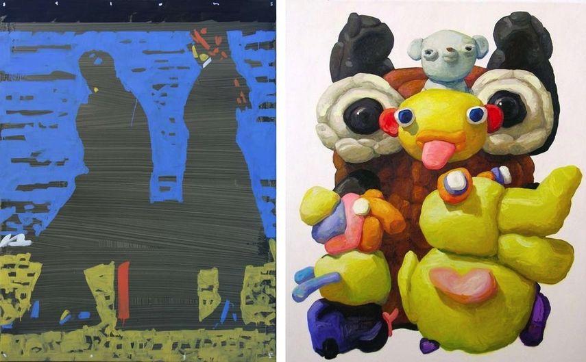 Mykola Bilous - Suitcase, Peter Opheim - Owl