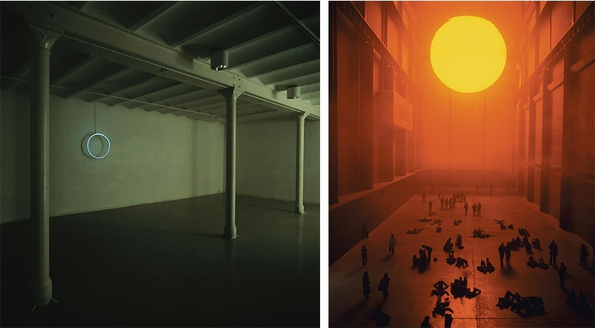 Olafur Eliasson new york 2003