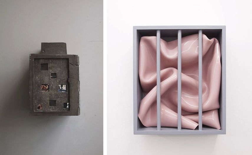 Oliver Czarnetta - Headquarter II, 2016, Vanessa Safavi - The witness, 2017