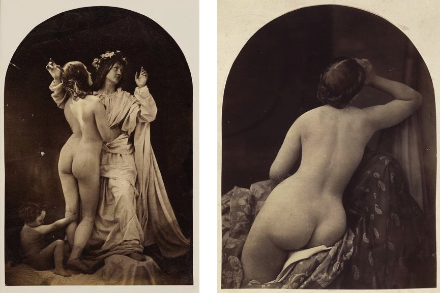 Oscar Rejlander - Allegorical Study (Sacred and Profane Love), about 1860, Ariadne, 1857
