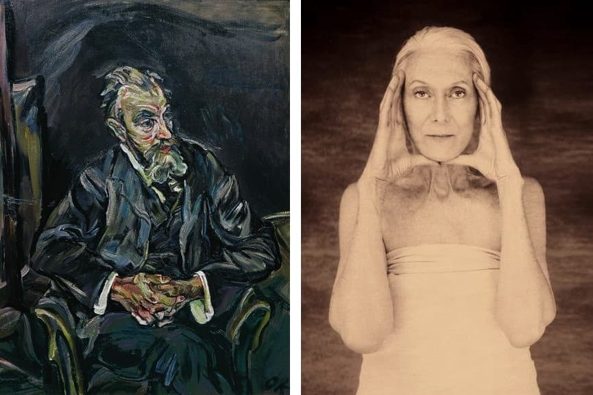 Oskar Kokoschka, The painter Carl Moll, 1913, Joyce Tenneson, Christine Lee, 2002