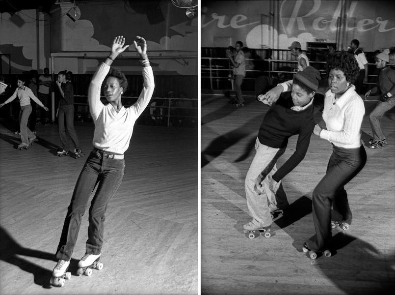 Patrick Pagnano - Empire Roller Disco #19, 1980 / Patrick Pagnano - Empire Roller Disco #4, 1980