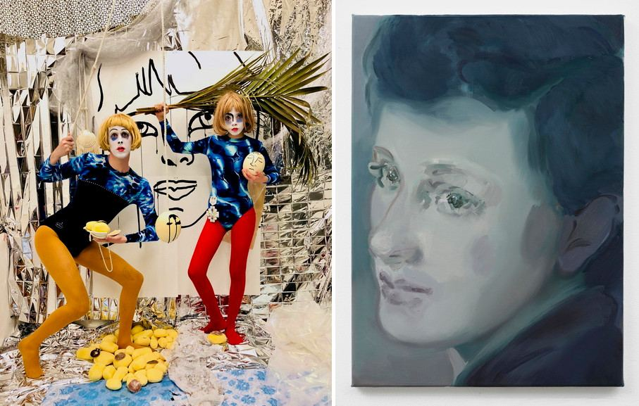 Left Paul Kindersley - Oh! Right Kaye Donachie - Our tears for smiles