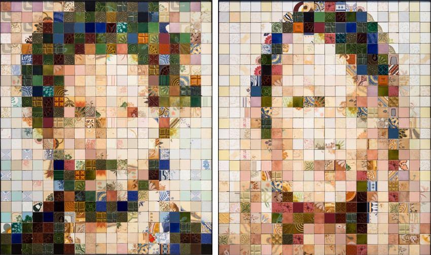 Left: Pedrita - Pedro #4, 2015 / Right: Pedrita - Rita #5, 2015, from Best guess for this image exhibition