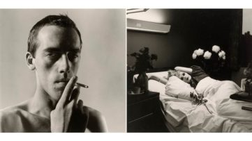 Left Peter Hujar - David Wojnarowicz Right Peter Hujar - Candy Darling