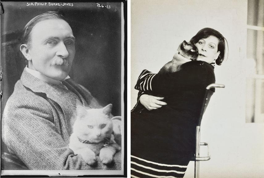 Left Philip Burne Jones Right Florence Henri