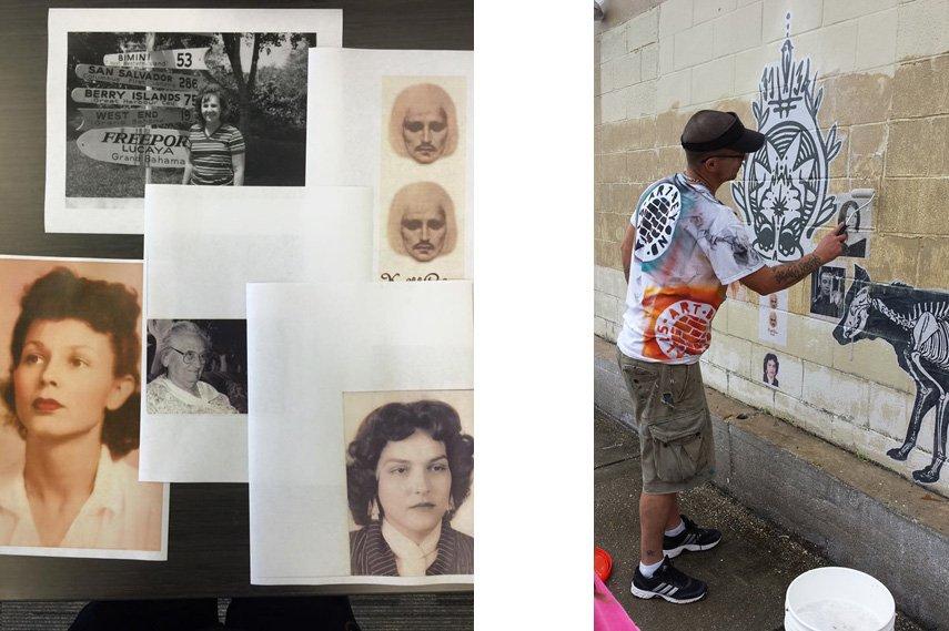 book, year, pnj, kickstarter, 365, painted,Rachael Pongetti, day, book, left, kickstarter Pensacola Graffiti Bridge Project, bridge,