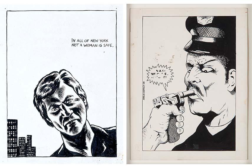 Raymond Pettibon - No title (In all of), 1983. Pen and ink on paper, (Make me come,…), 1981. Pen and ink on paper, Courtesy David Zwirner, New York deichtorhallen hamburg exhibition homo americanus